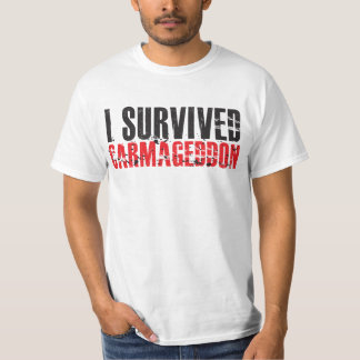 I Survived Carmageddon 405 freeway T-Shirt