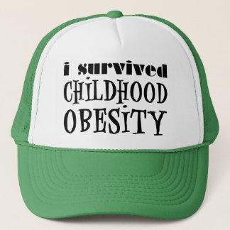 I Survived Childhood Obesity Trucker Hat