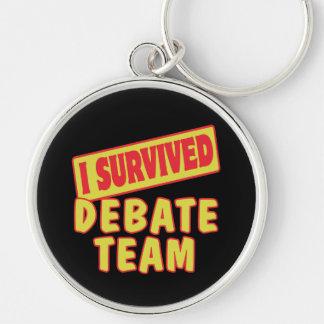 I SURVIVED DEBATE TEAM KEY RING
