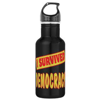 I SURVIVED DEMOCRACY 532 ML WATER BOTTLE