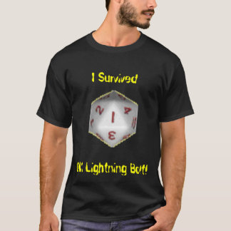 I Survived DM Lightning Bolt! T-Shirt