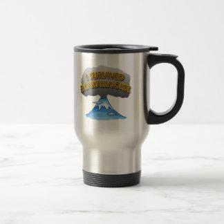 I Survived Eyjafjallajokull Volcano Tshirt Mugs