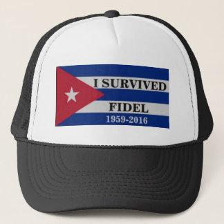 I survived Fidel Trucker Hat