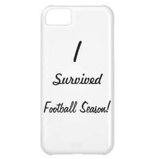 I survived football season! iPhone 5C cases
