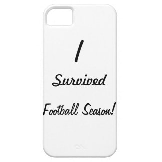 I survived football season! iPhone 5 cover