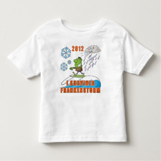 I Survived Frankenstorm 2012 Toddler T-Shirt