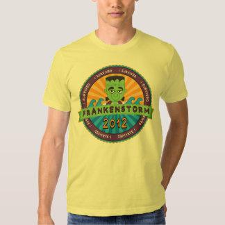 I Survived Frankenstorm 2012 Tshirts