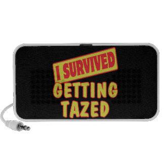 I SURVIVED GETTING TAZED SPEAKER SYSTEM
