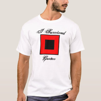 I Survived Gustav T-Shirt - Front & Back