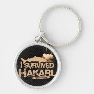 I Survived Hákarl Keychain