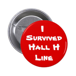 I Survived Hall H Line 6 Cm Round Badge