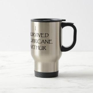 I Survived Hurricane Arthur Travel Mug