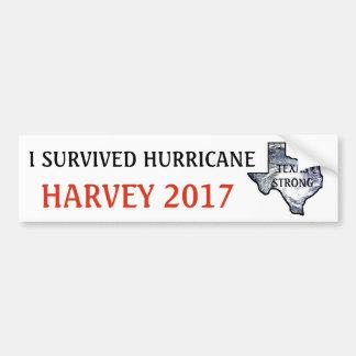 I SURVIVED HURRICANE HARVEY 2017 BUMPER STICKER