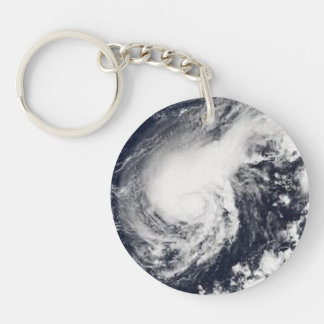 I Survived Hurricane HARVEY 2017 Button Key Ring