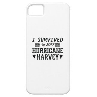 I Survived Hurricane Harvey Barely There iPhone 5 Case