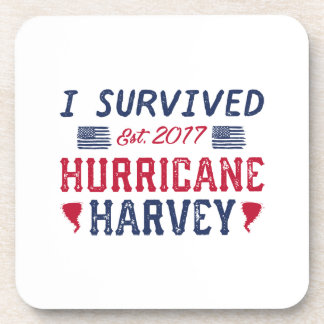 I Survived Hurricane Harvey Coaster