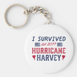 I Survived Hurricane Harvey Key Ring