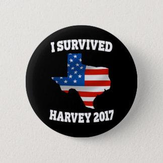 I survived Hurricane Harvey Texas button