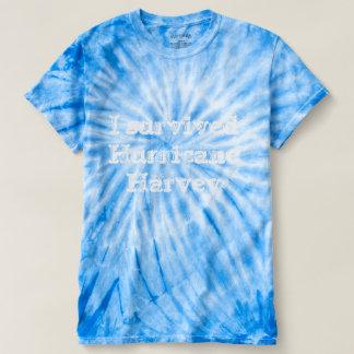 I survived Hurricane harvey tie dye T-Shirt