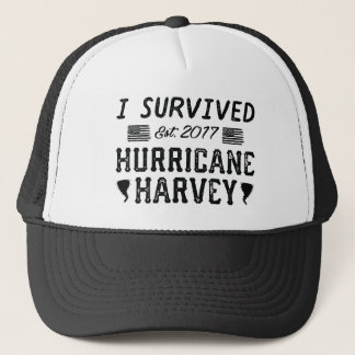 I Survived Hurricane Harvey Trucker Hat
