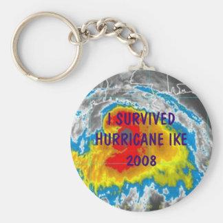 I SURVIVED HURRICANE IKE 2008 KEY RING