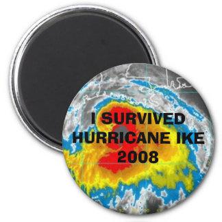 I SURVIVED HURRICANE IKE 2008 MAGNET
