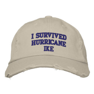 I SURVIVED HURRICANE IKE CAP - Customized