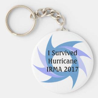 I Survived Hurricane IRMA 2017 Button KEY CHAIN