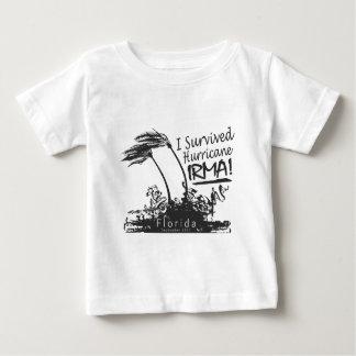 I Survived Hurricane Irma Baby T-Shirt