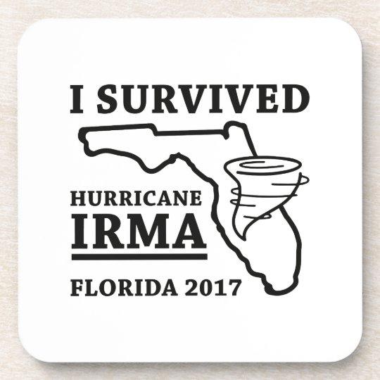 I Survived Hurricane Irma Coaster