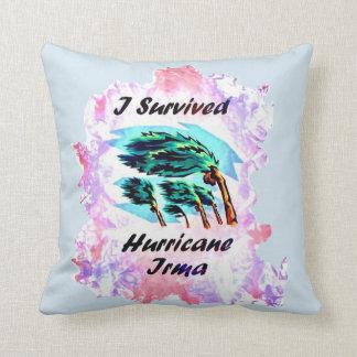 I Survived Hurricane Irma Cushion
