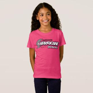 I Survived Hurricane Irma Girls Shirt