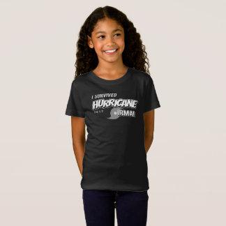 I Survived Hurricane Irma Girls T-Shirt