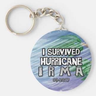 I survived Hurricane Irma Key Ring