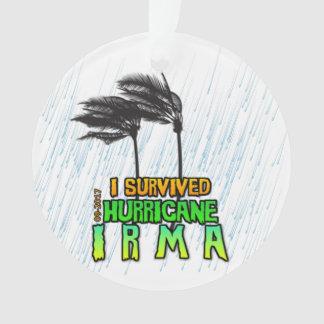 I survived Hurricane Irma Ornament