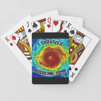I Survived Hurricane Irma Playing Cards