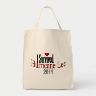 I Survived Hurricane Lee Tote Bag