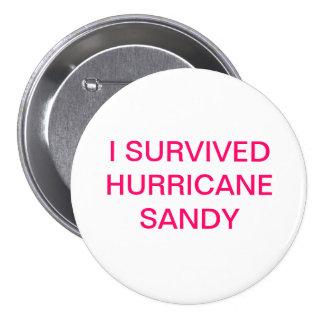 I SURVIVED HURRICANE SANDY BUTTON