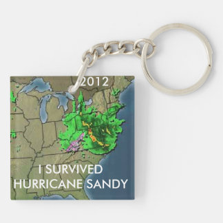 I SURVIVED HURRICANE SANDY KEY RING