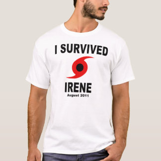 I SURVIVED IRENE August 2011 T-Shirt