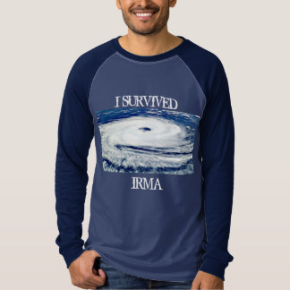 I SURVIVED IRMA HURRICANE SHIRT