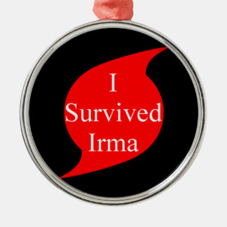 I survived Irma Metal Ornament