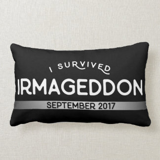I Survived Irmageddon Lumbar Pillow