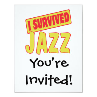 I SURVIVED JAZZ CARD