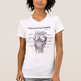 """""""I Survived Knee Surgery"""" T-Shirt"""