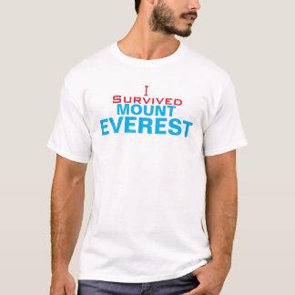 I Survived Mount Everest Men's Basic T-Shirt