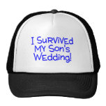 I Survived My Sons Wedding Blue