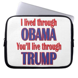 I survived Obama Laptop Sleeve