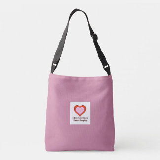 I Survived Open Heart Surgery2e Crossbody Bag