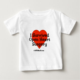 I Survived Open Heart Surgery Baby T-Shirt